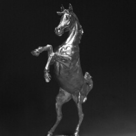Arab Horse - Priceless Perfection In Sterling Silver<br />click to enlarge